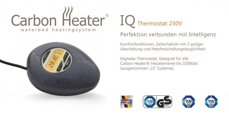 TBD Wasserbett Heizung IQ Digital - Ersatz Regler / Thermostat