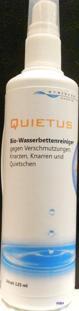 Quietus Bio Wasserbett Vinyl Reiniger
